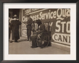 Blind Beggar, Lawton, Oklahoma, c.1917 Prints by Lewis Wickes Hine