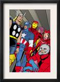 X-Statix 21 Group: Ant-Man, Captain America, Thor, Iron Man, Scarlet Witch, Hawkeye and Avengers Art by Michael Allred
