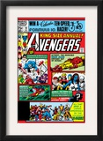 Avengers Annual 10 Cover: Captain America Prints by Michael Golden