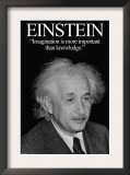 Einstein Prints by Wilbur Pierce