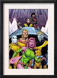 Exiles 66 Cover: Blink, Sabretooth, Mimic, Morph and Exiles Posters by James Calafiore