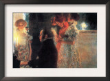 Schubert At The Piano Prints by Gustav Klimt