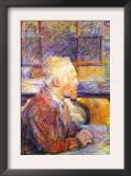 Portrait of Van Gogh Posters by Henri de Toulouse-Lautrec