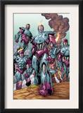 Sentinel Squad O*N*E 1 Group: Sentinel Prints by Aaron Lopresti