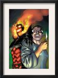 Defenders 4 Cover: Dr. Strange and Dormammu Prints by Kevin Maguire