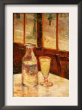The Still Life with Absinthe Posters by Vincent van Gogh