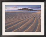 Sand Patterns on the Beach Coll Inner Hebrides, Scotland, UK Prints by Niall Benvie