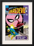 Daredevil 17 Cover: Daredevil, Spider-Man and Marauder Print by John Romita Sr.
