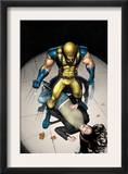 The Pulse N9 Cover: Wolverine, Jones and Jessica Prints by Michael Lark