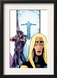 Avengers Thunderbolts 3 Cover: Moonstone and Hawkeye Prints by Barry Kitson