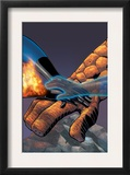 Fantastic Four 524 Cover: Mr. Fantastic, Invisible Woman, Thing, Human Torch and Fantastic Four Posters by Mike Wieringo