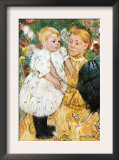 In The Garden Prints by Mary Cassatt
