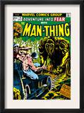 Man-Thing 16 Cover: Man-Thing Prints by Val Mayerik