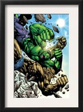 Hulk: Destruction 4 Cover: Abomination and Hulk Art by Jim Muniz