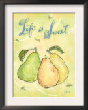 Life is Sweet Poster by Flavia Weedn
