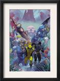 Secrets Of The House Of M Cover: Wolverine Prints by Esad Ribic