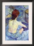 Rousse The Toilet Prints by Henri de Toulouse-Lautrec