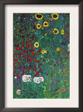 Garden Prints by Gustav Klimt