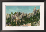 Custer State Park, South Dakota - Needles Highway View of the Big Tunnel, c.1937 Prints