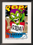 The Spectacular Spider-Man 189 Headshot: Green Goblin Print by Sal Buscema