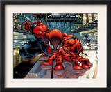 The Sensational Spider-Man 23 Cover: Spider-Man Prints by Angel Medina