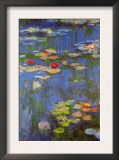 Water Lilies No. 3 Posters por Claude Monet