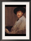 Self Portrait Prints by James Abbott McNeill Whistler