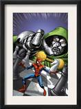 Marvel Adventures Spider-Man 9 Cover: Spider-Man and Dr. Doom Posters by Mike Norton