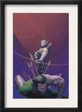 House Of M 1 Cover: Hawkeye and Wolverine Posters by Esad Ribic