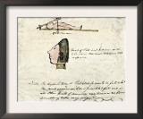 William Clark's Sketch of Flathead Indians in His Diary, c.1804-1806 Prints