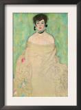 Portrait of Amalie Zuckerkandl Posters by Gustav Klimt
