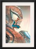 Mega Morphs 3 Cover: Spider-Man Prints by Lou Kang