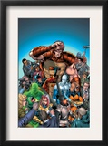 New Thunderbolts 7 Cover: MACH-IV Posters by Tom Grummett