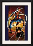 Ultimate Spider-Man 57 Cover: Spider-Man and Doctor Octopus Posters by Mark Bagley