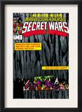 Secret Wars 4 Cover: Hulk and Captain America Prints by Bob Layton