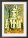 Church At Old Lyme, Connecticut Prints by Childe Hassam