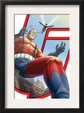 Avengers: Earths Mightiest Heroes 5 Cover: Giant Man and Wasp Poster by Scott Kolins