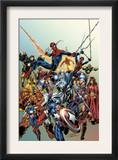 Last Hero Standing 1 Cover: Spider-Man Prints by Scott Hanna