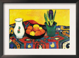 Still Life with Hyacinthe Prints by Auguste Macke