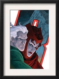 Avengers: Earths Mightiest Heroes 7 Cover: Quicksilver and Scarlet Witch Posters
