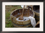 Camp Laundry in a Bucket at a Reenactment on the Yorktown Battlefield, Virginia Prints