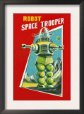 Robot Space Trooper Prints