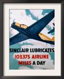 Sinclair Aircraft Motoroil Poster Prints