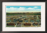 Boulder City, Nevada, Panoramic View of the Town for the Hoover Dam Workers Poster