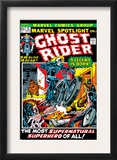 Marvel Spotlight 5 Cover: Ghost Rider Prints by Mike Ploog