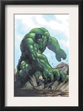 Gamma Games 3 Cover: Hulk Prints by Alvin Lee
