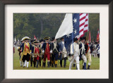 Rochambeau and Other Officers Take the Field in a Reenactment of the Surrender at Yorktown Posters