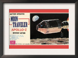 Moon Traveler Apollo-Z Posters
