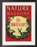 Nature Magazine - 25th Anniversary Issue, View of Wildlife and Birds, c.1948 Prints