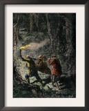 Hunters Bringing Home a Bear Prints